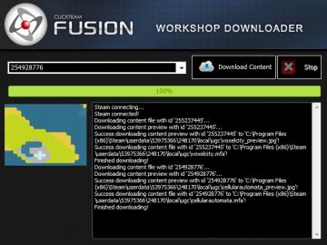 Clickteam Community - Steam Workshop Download/Upload Tool